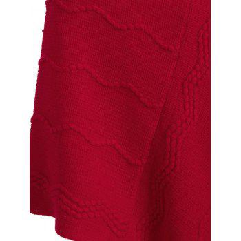 Fashionable Pure Color Women Warm Scarf - RED RED