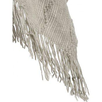 Fashionable Pure Color Women Warm Scarf - KHAKI KHAKI