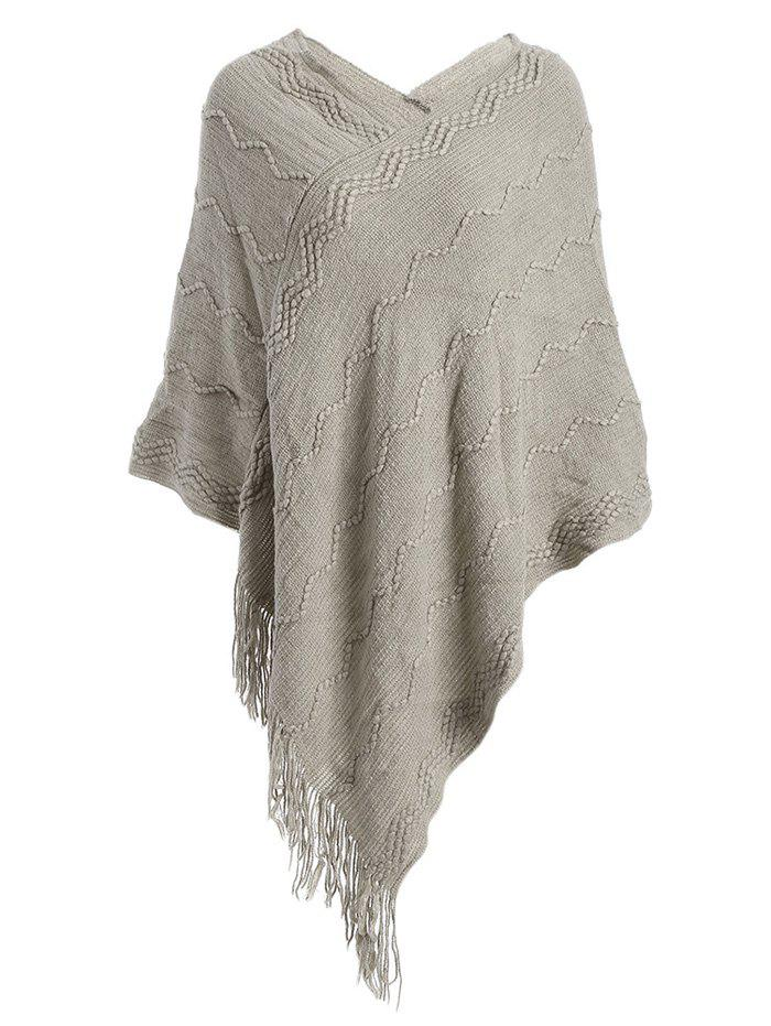 Fashionable Pure Color Women Warm Scarf - KHAKI ONE SIZE(FIT SIZE XS TO M)