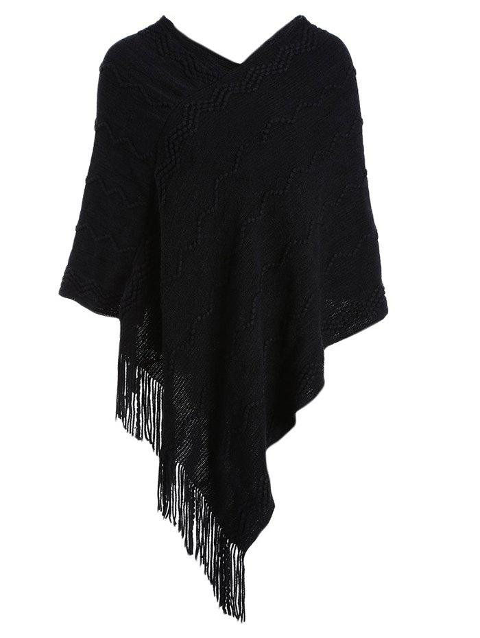 Fashionable Pure Color Women Warm Scarf - BLACK ONE SIZE(FIT SIZE XS TO M)