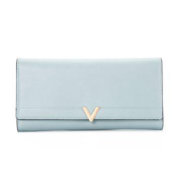 Guapabien Brief PU Leather Long Wallet