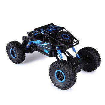 HB P1801 2.4GHz 1:18 Scale RC 4 Wheel Drive Toy Car - BLUE EU PLUG