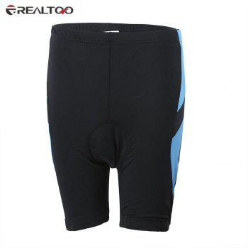 REALTOO Bicycle Uniform Silicone Gel Padded Cycling Shorts