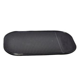 Automobile Anti-slip Mat Small Size Mobile Phone Non-skid Cushion - BLACK