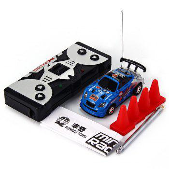 1 : 63 Coke Can Mini RC Radio Remote Control Micro Racing Car Kids Gift -  COLORMIX