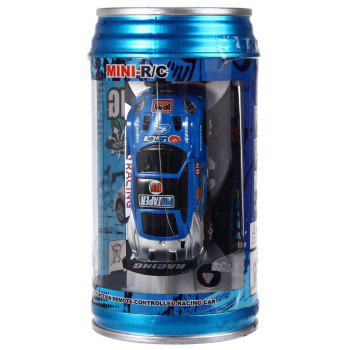 1 : 63 Coke Can Mini RC Radio Remote Control Micro Racing Car Kids Gift - COLORMIX COLORMIX
