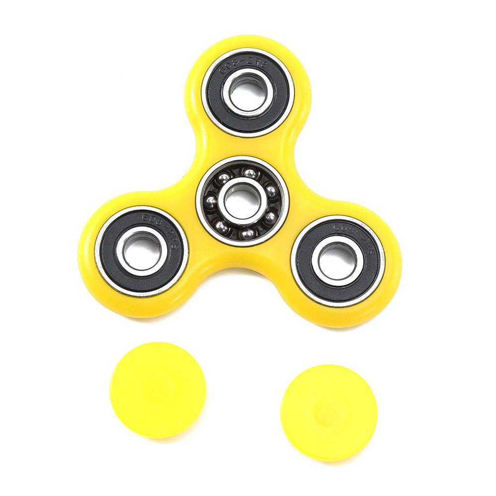 Hand Spinner EDC Finger Toy for ADHD Autism Learning - YELLOW