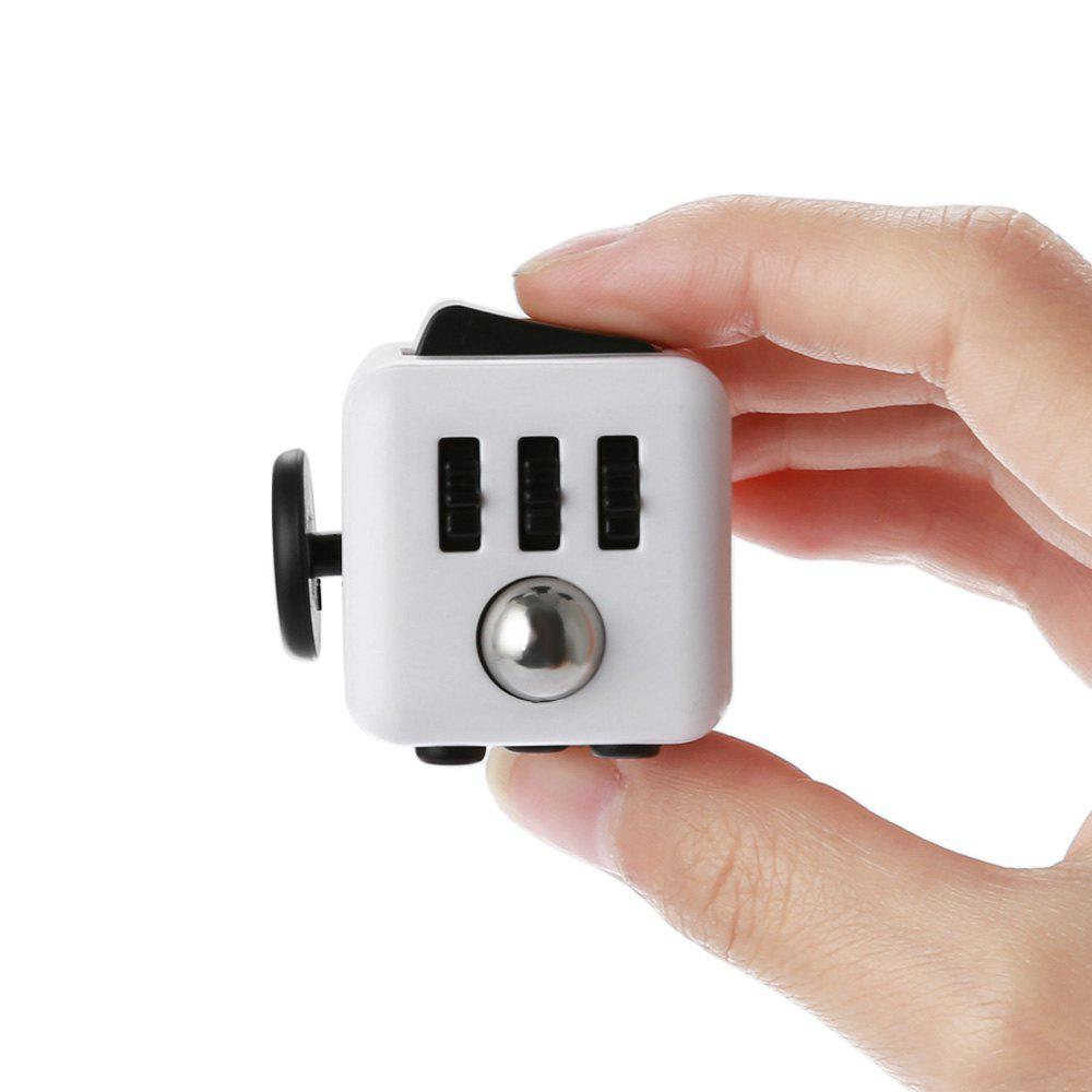 PIECE FUN Fidget Magic Cube Style Stress Reliever Pressure Reducing Toy for Office Worker 9 types squeeze stress reliever fidget cube pc vinyl fidgetcube game toy kickstarter fidget toys for girl boys christmas gifts