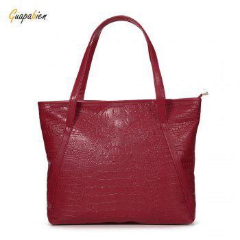 Guapabien Brief Women Pocket Shopper Bag