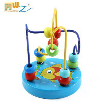 Muwanzi Mini Beaded Wooden Desktop Educational Game Toys for Kids