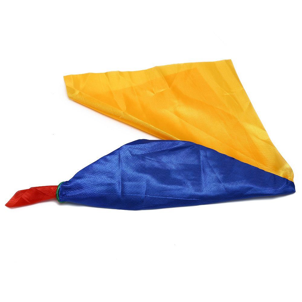 Four-color Silk Scarf Excellent Stage Magic Prop - COLORFUL