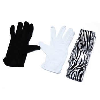 Professional Gloves into Scarf Stage Magic Prop
