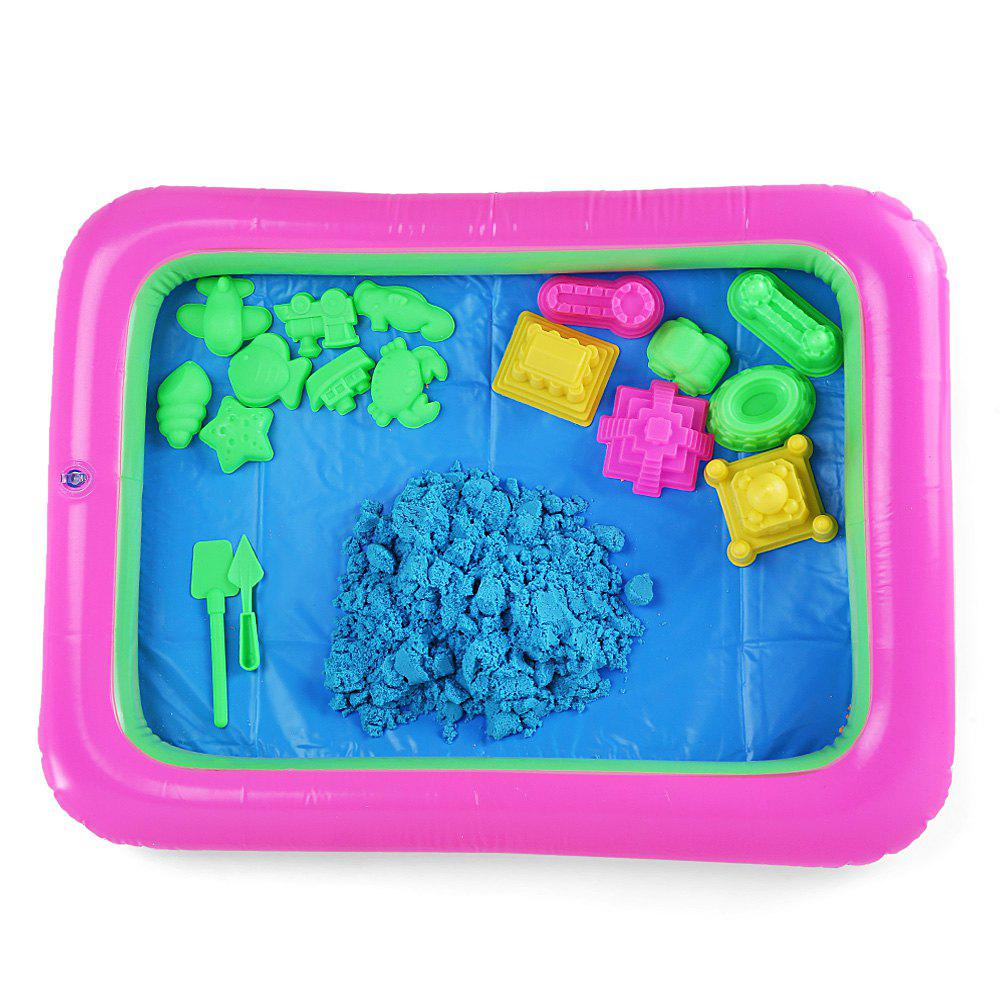 Chromatique Castle Mold Space Sand Toy pour enfants - Bleu