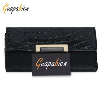 Guapabien Models Multi-card Leather Folder Women Wallet