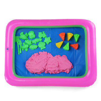Chromatic Cake Mold Space Sand Toy for Children