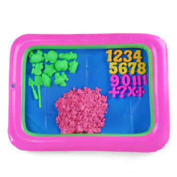 Chromatic Number Mold Space Sand Toy for Children
