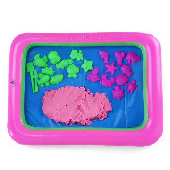 Chromatic Marine Animal Mold Space Sand Toy for Children