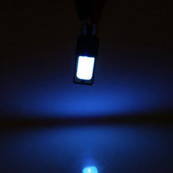 DC12V T10 Error Free Lamp COB LED High Power Car Wedge Light Parking Bulb -  ICE BLUE LIGHT