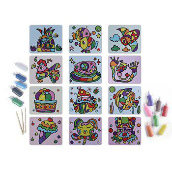Sand Painting Handmade Toy for Children - Coloré