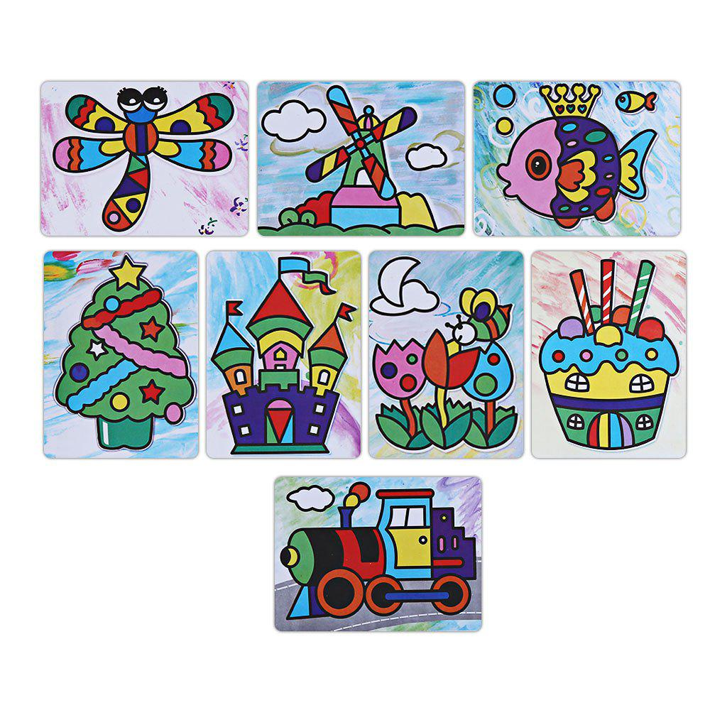 Sticky Painting Educational DIY Toy for Children graffiti painting educational diy toy for children