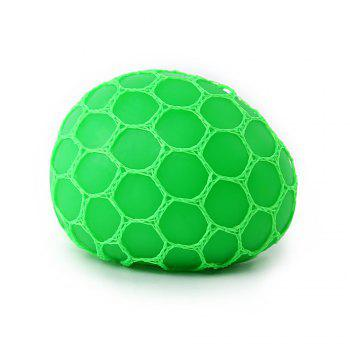 Grape Vent Ball Stress Relief Squeezing Toy - Vert