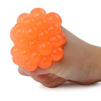Mesh Grape Vent Ball Stress Relief Squeezing Toy -  MANDARIN