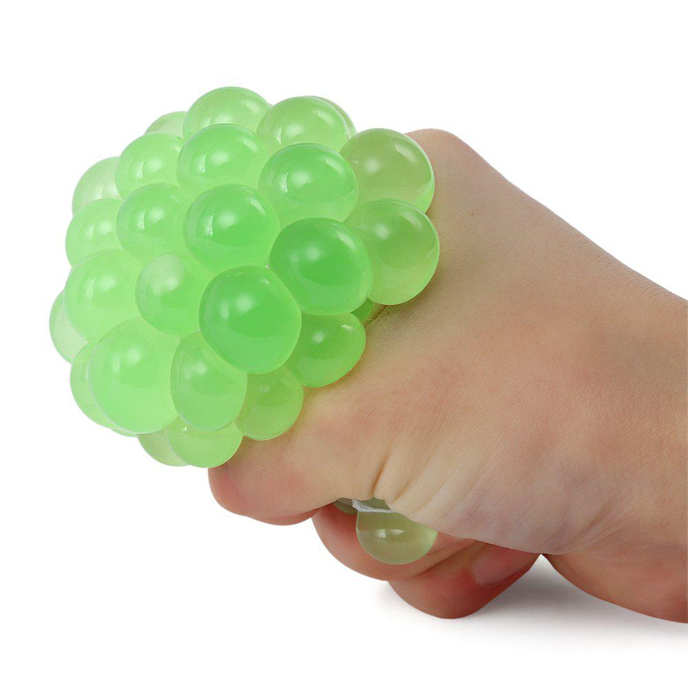 Mesh Grape Vent Ball Stress Relief Squeezing Toy - TURQUOISE