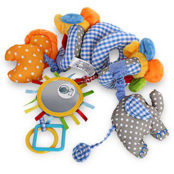 Sozzy Animal Shape Baby Music Bed Hanging Toy - BLUE