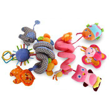 Sozzy Animal Shape Baby Music Bed Hanging Toy - Bleu