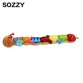 Sozzy Musical Worm Plush Toy for Kid