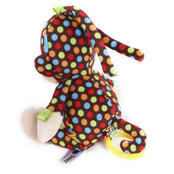 Sozzy Cute Monkey Design Bell Pull Stretch Toy - Brun