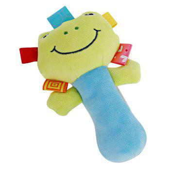 Sozzy Cartoon Plush Baby Handbell Toy - COLORMIX COLORMIX