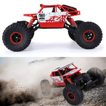 HB P1801 2.4GHz 1:18 Scale RC 4 Wheel Drive Toy Car - RED EU PLUG