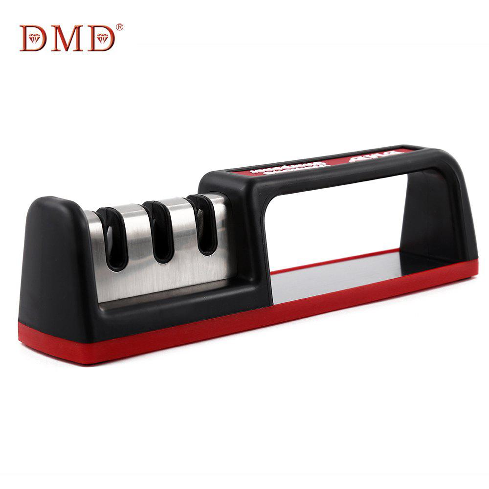 DMD Three-stage Diamond Tungsten Steel Ceramic Kitchen Knife Sharpener