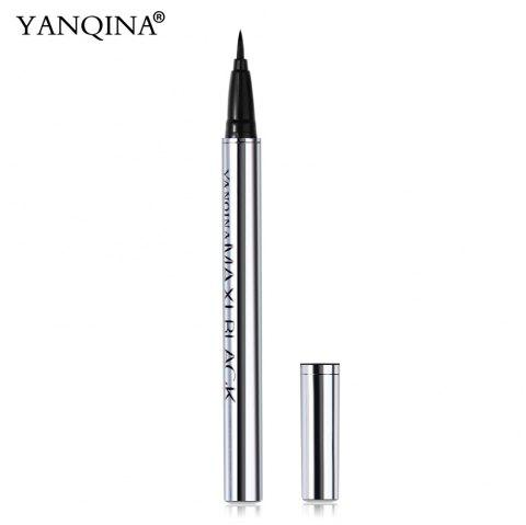 YANQINA Ultimate Black Long-lasting Waterproof Eyeliner Pencil Pen - BLACK