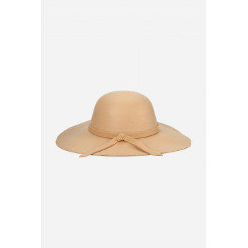 Fashionable Bowknot Design Dome Top Hat for Women