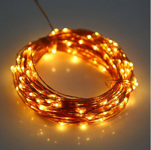 3M 30 LEDs Copper Wire Fairy String Light AA Battery Powered for Christmas Holiday Festival Decoration - WARM WHITE LIGHT