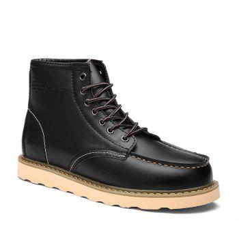 New Martin Men's Frock Trend Leather Boots in Winter