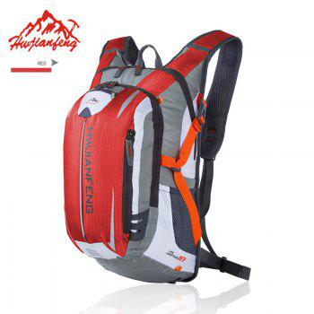 Huwaijianfeng Cycling Outdoor Nylon Backpack - RED RED
