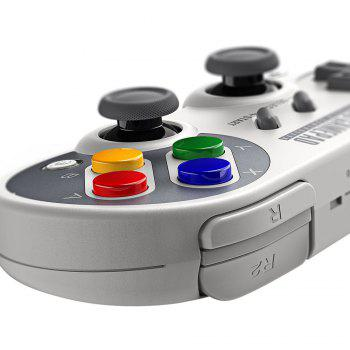 8Bitdo SF30 Pro Wireless Bluetooth Controller with Classic Joystick Gamepad for Android Nintendo Switch Windows macOS Steam - GRAY