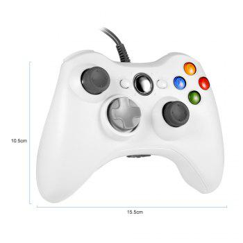 X - 360 Multipurpose Wired Controller for Multiple Platforms - WHITE