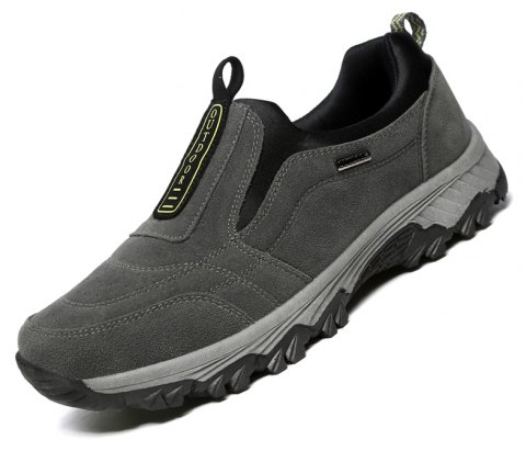 Male Fashion Breathable Outdoor Sneakers - GRAY 42