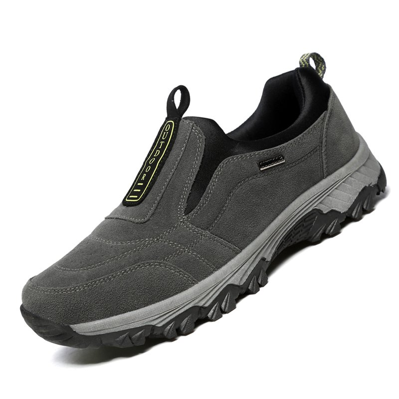 Male Fashion Breathable Outdoor Sneakers - GRAY 39