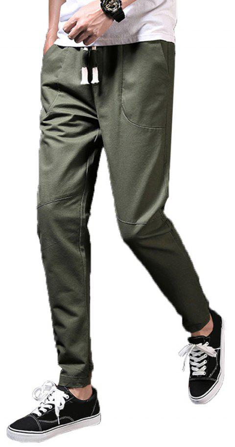 Men's Fashion et Trend Pants - Armée verte 43