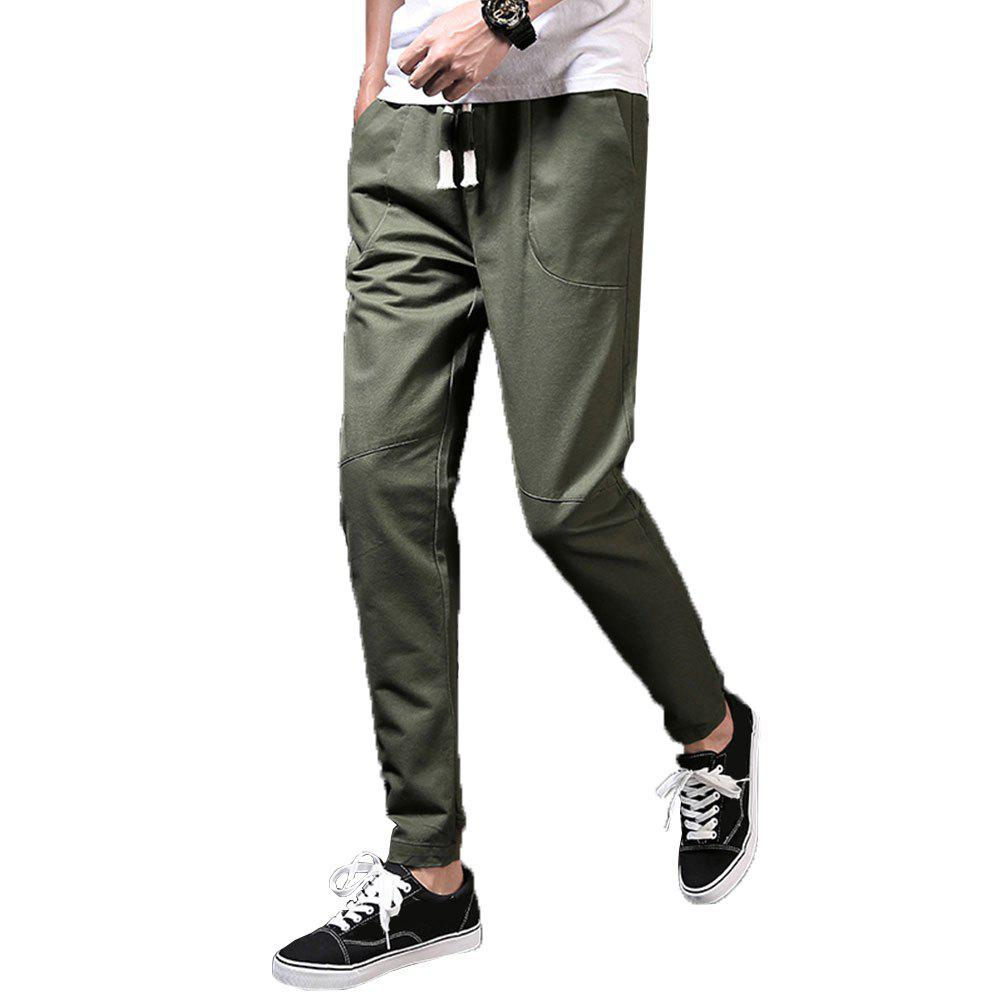 Men's Fashion and Trend Pants - ARMYGREEN 37