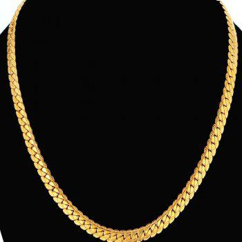 Hiphop Gold Chains Necklace For Men Jewelry