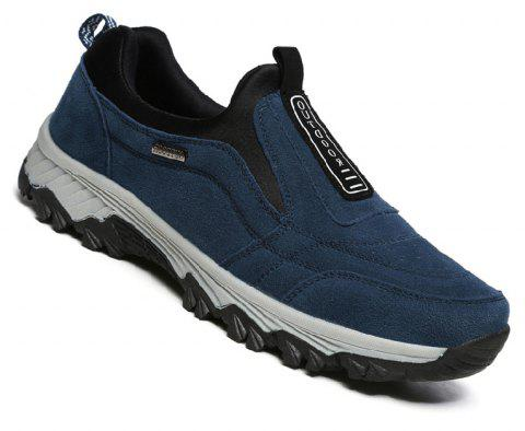 Male Fashion Breathable Outdoor Sneakers - BLUE 42