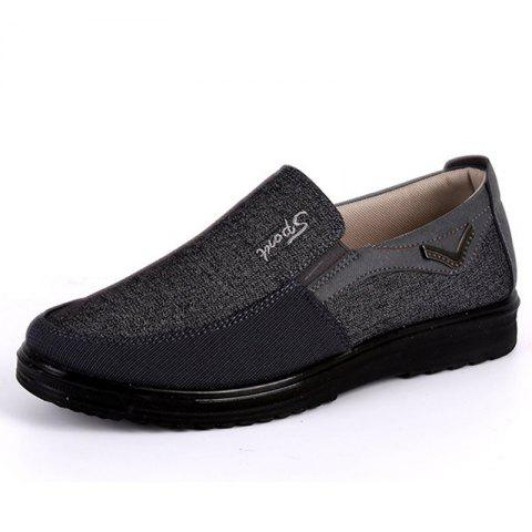 adb3f383d3 2019 Men Large Size Breathable Anti-skid Loafers Cloth Shoes In ...