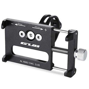 GUB G - 85 Aluminum Alloy Bicycle Handlebar Bike Phone Mount Cycling Holder Stand for Smart Mobile Cellphone