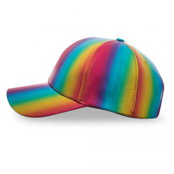 Colorful Baseball Cap Adjustable Men Women Casual Outdoor Hat - multicolor